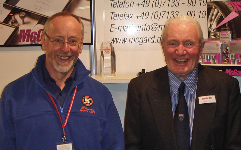 Paddy Hopkirk MBE – one-time GBA client, hero and long-standing friend